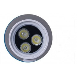 2 x 3W LED Up and Down Wall Light Waterproof Garden Lamp Light in Grey
