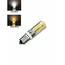 E14 LED AC230V 5W LED Lamp COB Spotlight Bulb Light Chandelier Candle Crystal Silicone Replace Halogen