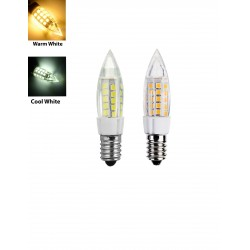 E14 5W LED Bulb Lamp AC 230V Bullet Shape
