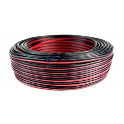 10 METER 2 CORE RED/BLACK CABLE AWG22 AUDIO SPEAKER LED STRIP WIRE