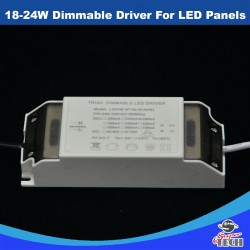 18W-30W Dimmable Driver For LED Panels for 18W and 24W Round