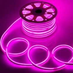 8x16 Neon LED Strip Light Double Sided Bright 120 LED/M 2835 SMD 220V Warm White/Pink