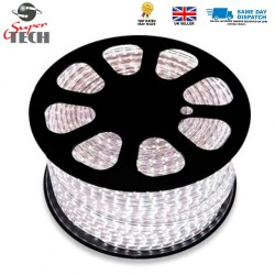 12MM 180 LEDs Strip Light Rope Light SMD 2835 220 V IP67 Waterproof Cool White