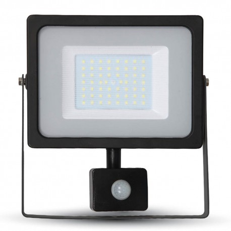 100W SMD Slimline FLOODLIGHT WITH SAMSUNG CHIP Cool White BLACK BODY 800 Watt Alternative