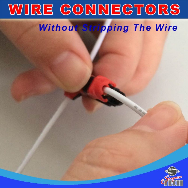 T type 1 pin non peeled wire joint, A New Way of Making wire ...