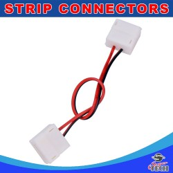 10mm 2pin LED strip to strip connector with 15cm cable for IP54/IP65