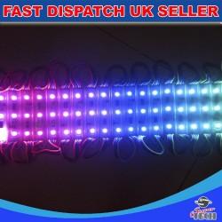 3 Chip RGB LED 5050 SMD Module Waterproof Light Lamp Strip DC 12V