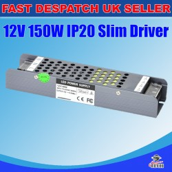 150W Power Supply Adapter IP20 for LED Strip 12V 12.5A DC Transformer