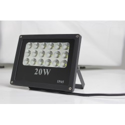 20W LED Flood Light with Lense, Die-cast Aluminum Cool white Garden/Garage