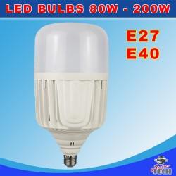 200W E27 E40 LED Bulbs long life bulb with Cooling Fan & Reflector Cool White