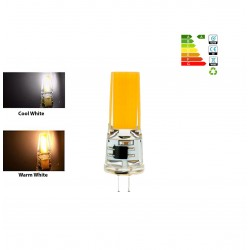 5W G4 COB LED Bulbs Capsule Light Lamps AC/DC 12V