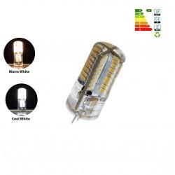 3W G4 64 SMD 3014 LED Lamp Bulb 200LM 3000K