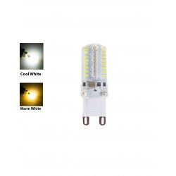 G9 LED AC230V 5W LED Lamp COB Spotlight Bulb Light Chandelier Candle Crystal Silicone Replace Halogen