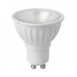 160-265V 5W GU10 Dimmable SMD LED SPOT LIGHT 6500K Cool White 450Lm, 80RA Aluminium Body