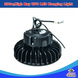 100w High Bay UFO LED Hanging Light Warehouse Replacement for HID MH