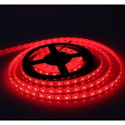 5050 SMD LED Strip Light Red Colour,60 LED/M 12V, IP65