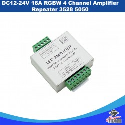 DC12-24V 12 A LED RGB Signal Amplifier for SMD 5050 3528 LED