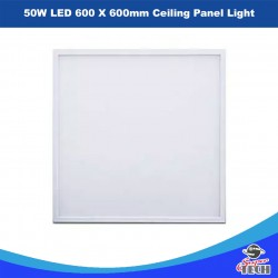 6 X 50W LED 595 X 595mm Ceiling Panel Light Office
