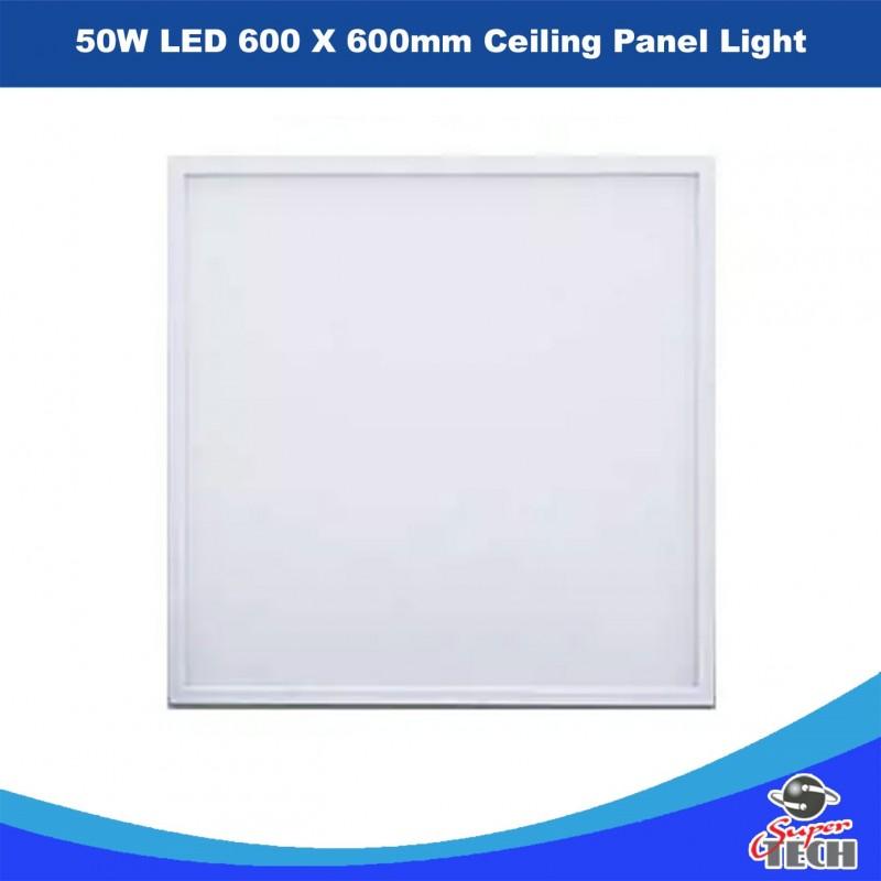 50W LED 600 X 600mm Ceiling Panel Light Office