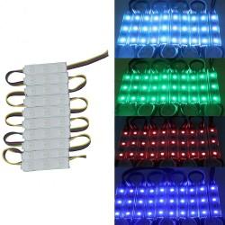 20x 3 LED RGB 5050 SMD Injection Module Strip sign shop front 6000MCD DC12V IP65