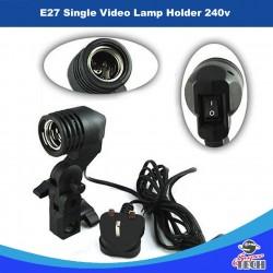 E27 Single Video Lamp Holder 240v