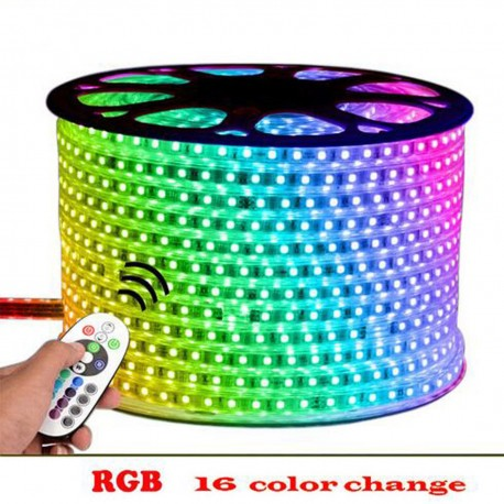 10MM RGB 60 LED/M PCB RGB Strip light 220V IP67 and Accessories
