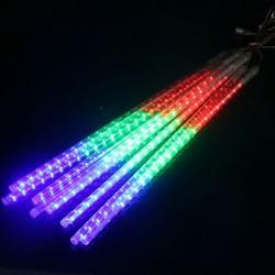 50cm 10 LED Lights Meteor Shower Rain Drop Waterproof Tube Xmas Decoration Light