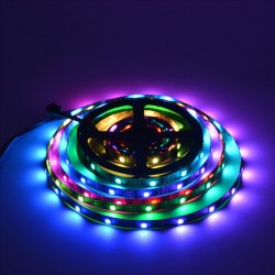 5M 300 LED  Strip Light Waterproof 5050 RGB SMD+Remote+IR Controller