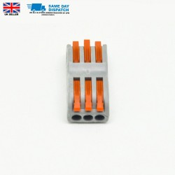 10 x 3 way universal 32A Terminal block Electric Wire Connector Box