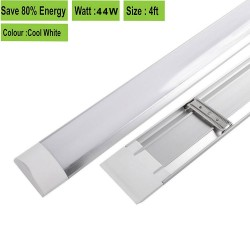 2 in 1 1200mm(4ft) 44W T8 integrated LED tube, Isolated driver Pure White 3420Lm