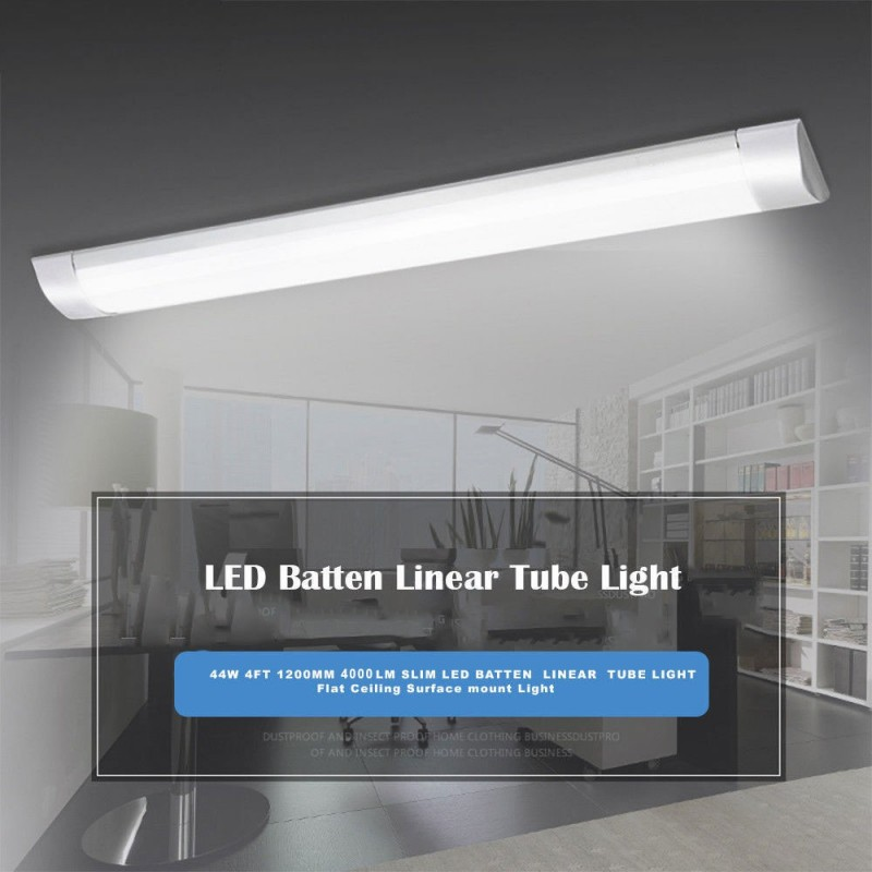 Led Batten Linear Tube Light 44w