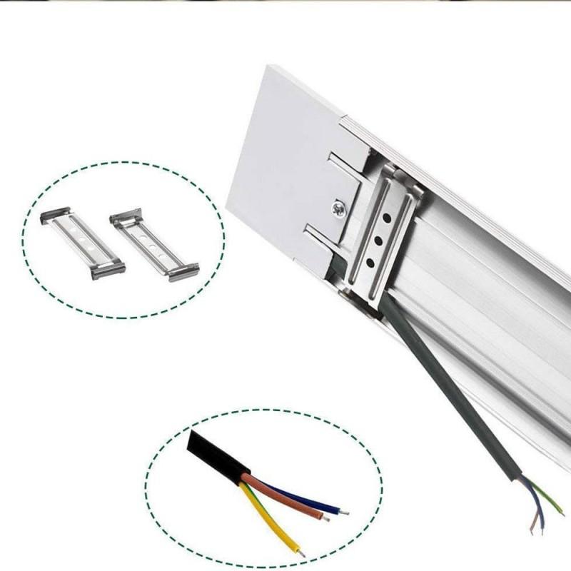 LED Batten Linear Tube Light, 44W Cool White