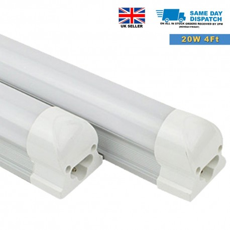 20W T8 1200mm LED Tube Light Integrated, All in One with fittings