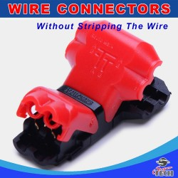 T type 2 pin non peeled wire joint, A New Way of Making wire connection safer and faster
