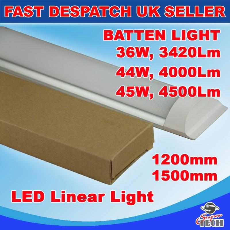 LED Batten Linear Tube Light, 45W